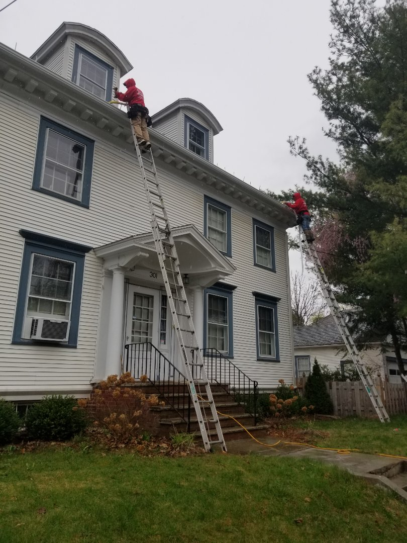 Syracuse, NY - Gutters and downspouts