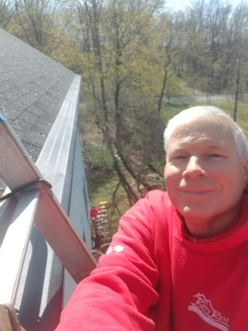 Manlius, NY - Providing maintenance free gutters with gutter helmet protection