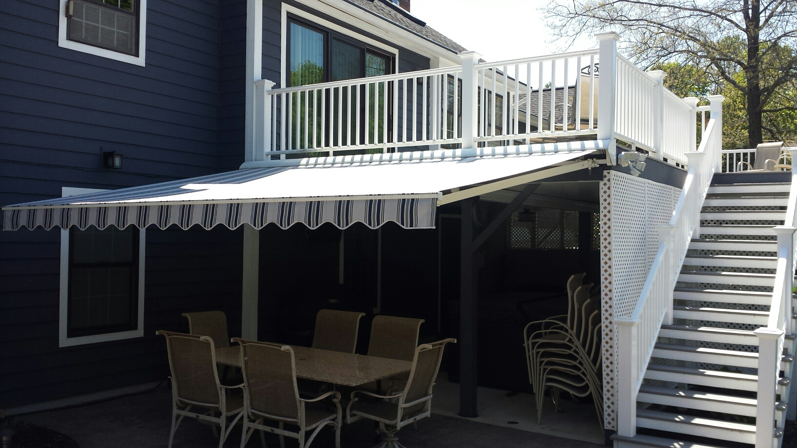 Fayetteville, NY - Installed this one on the deck