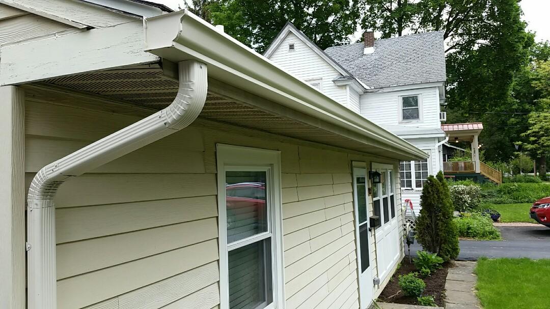 Fayetteville, NY - New gutters