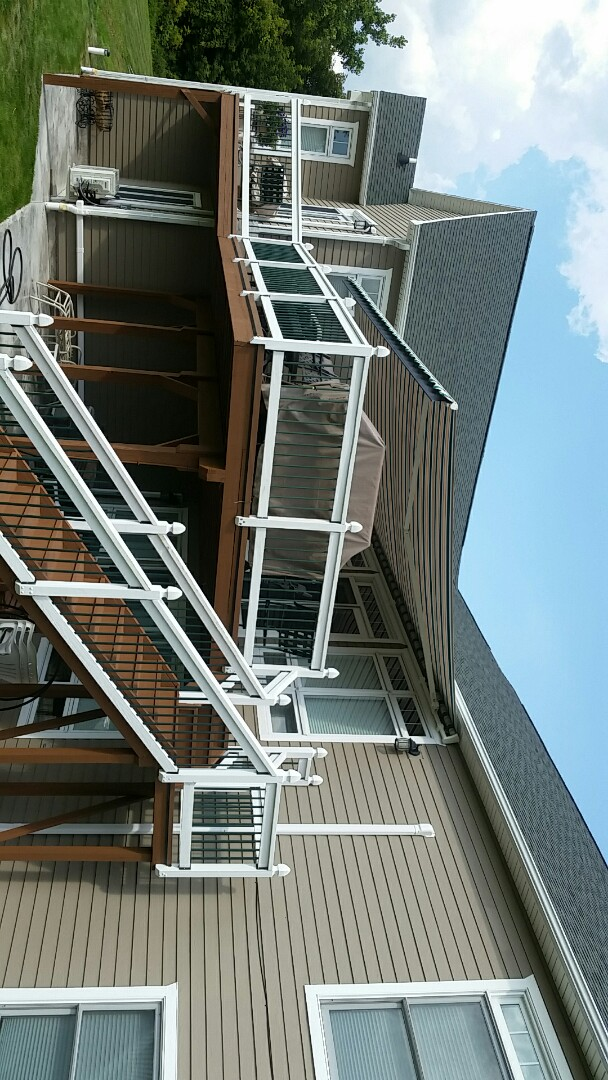Cazenovia, NY - Awnings and gutters