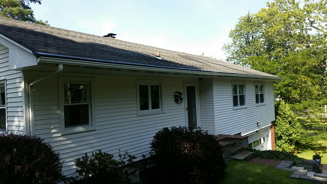 Syracuse, NY - Gutters and gutter helmet install