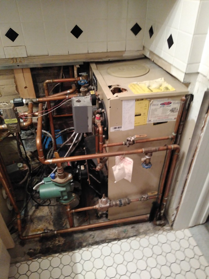 Levittown, PA - Performed precision oil tune up on Weil mclain in northpark section of Levittown PA