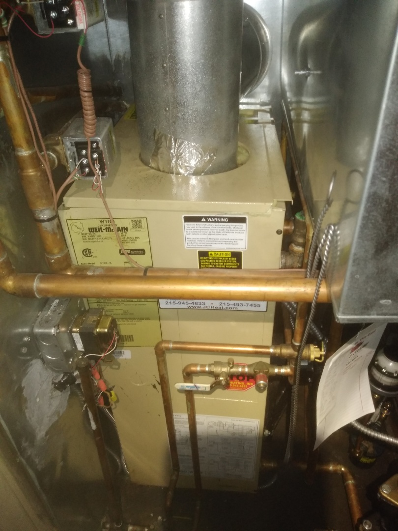 Levittown, PA - Performed precision oil tune up on weil McLain gold in Cobalt ridge section of Levittown PA