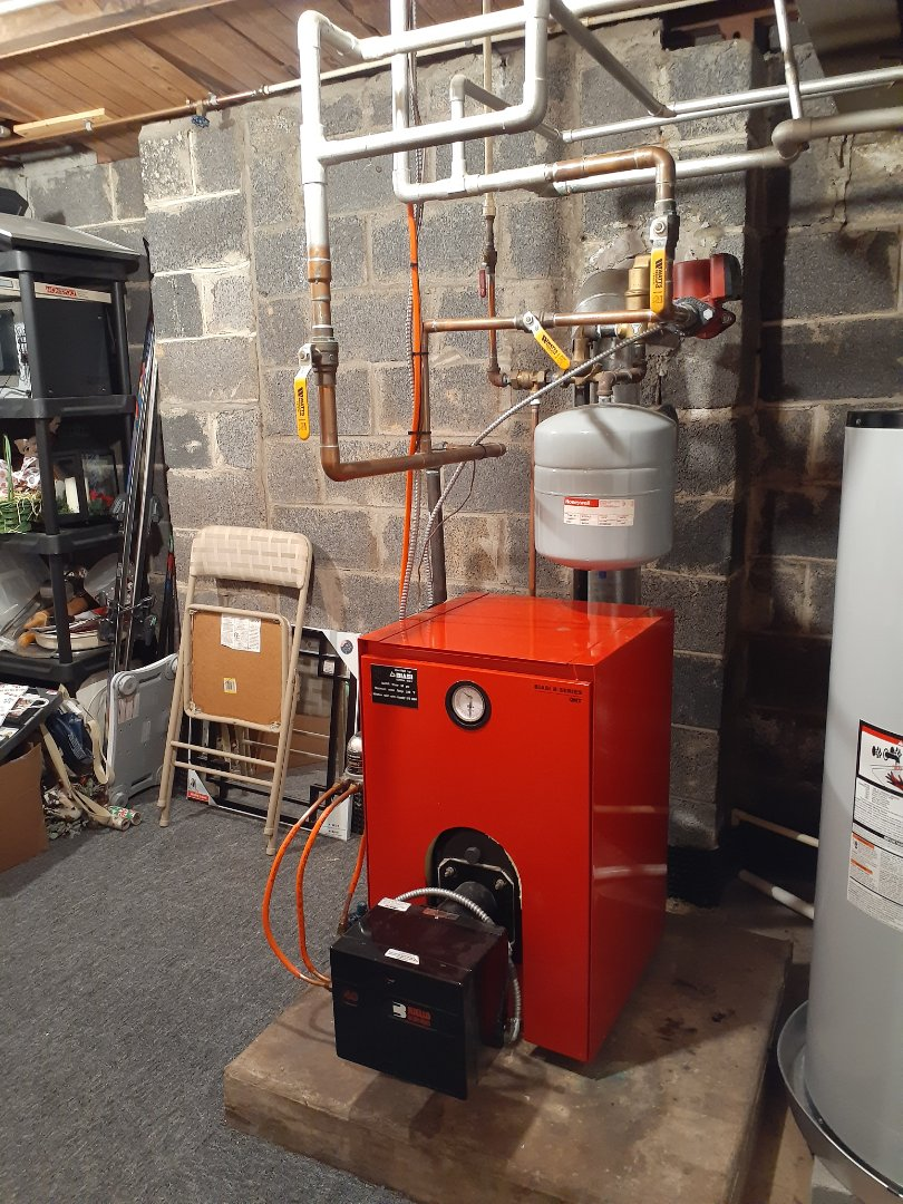 Southampton, PA - Performed Precision oil tune up on a biasi boiler with a Riello burner in Holland PA