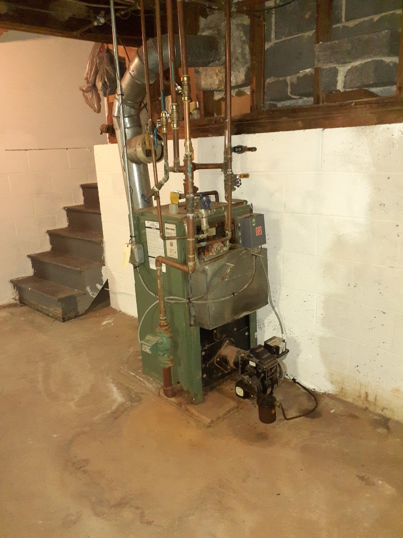 Warminster, PA - Performed Precision oil tune up on a New Yorker boiler in Warminster PA