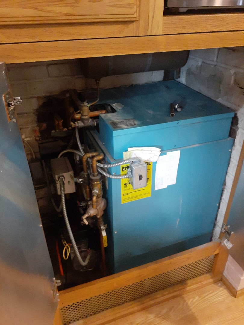 Levittown, PA - Performed Precision oil tune up on a cwl 85 thermodynamics boiler in Levittown PA
