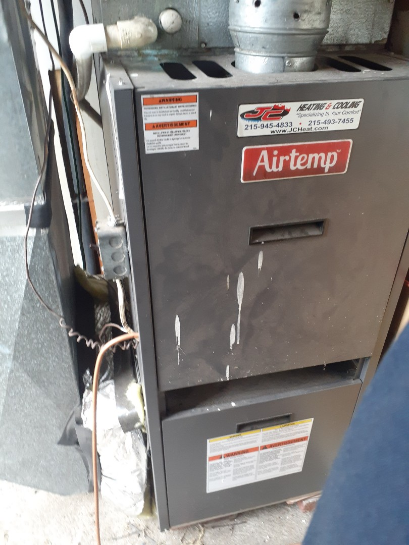 Levittown, PA - Perform Precision oil tune up on air temp warm air furnace in Levittown PA