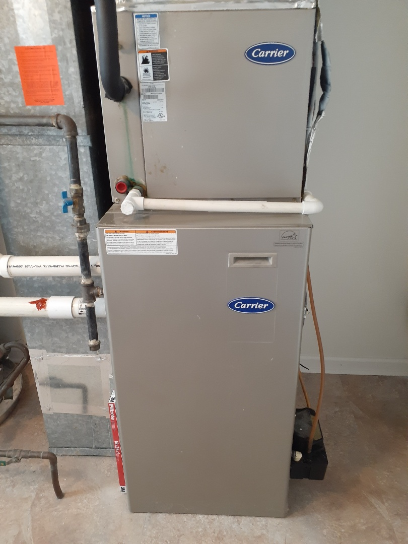Langhorne, PA - Perform Precision oil tune-up on a carrier warm air furnace in Langhorne PA