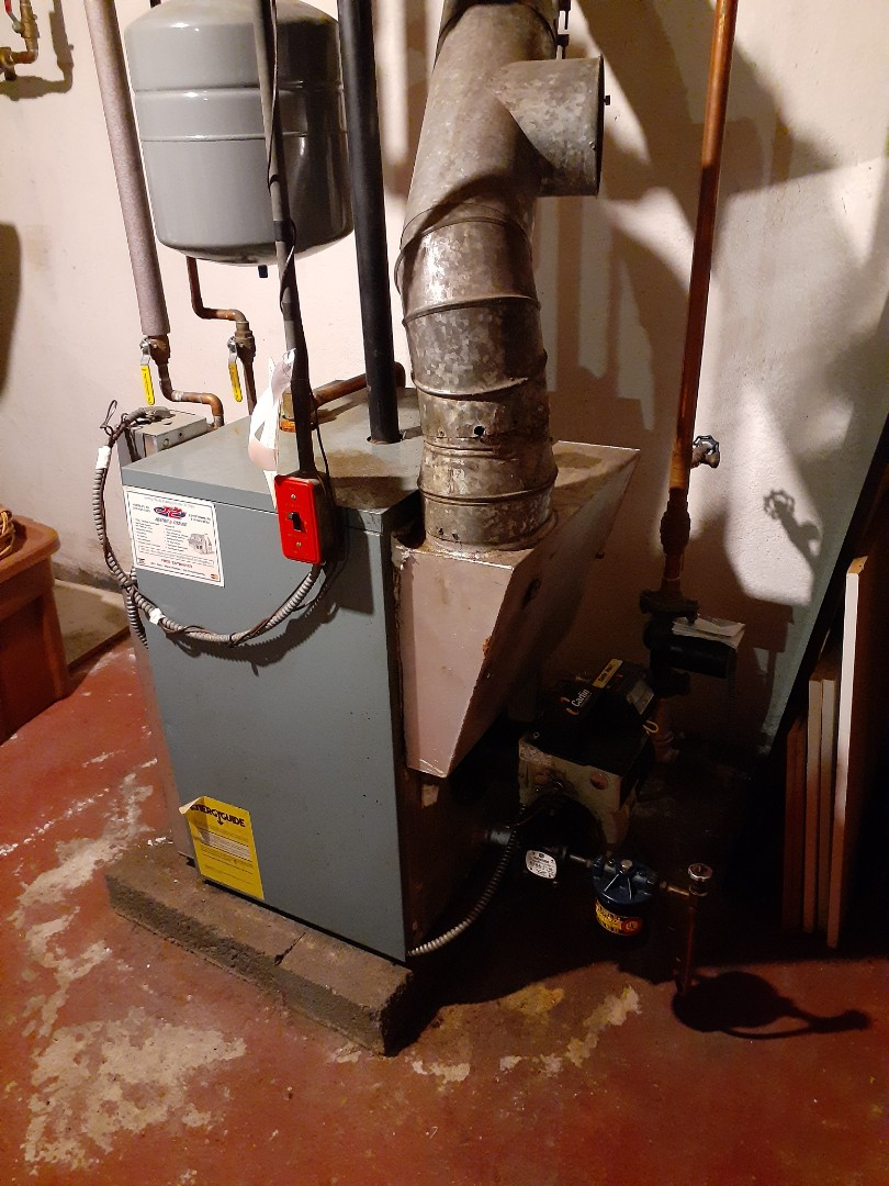 Morrisville, PA - Performed a Precision oil tune up on an AxMen- Anderson boiler Yardley PA
