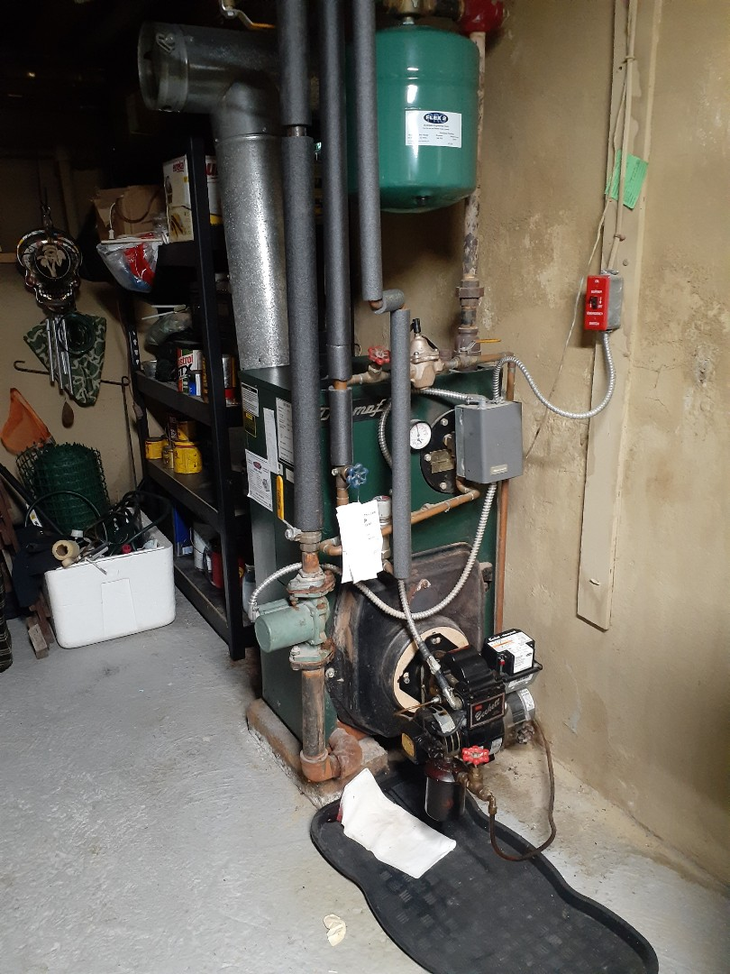 Performed a Precision oil Tune-up on a thermoflo boiler in Yardley PA