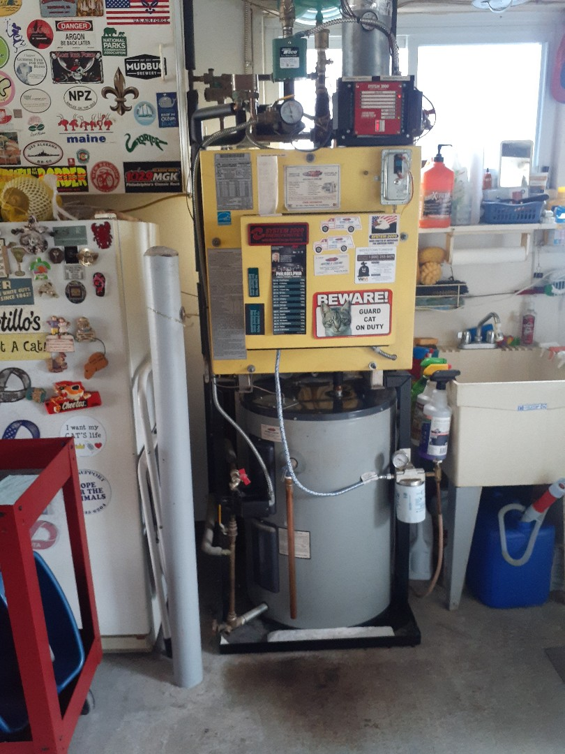 Levittown, PA - Perform Precision oil tune up on a system 2000 in Cobalt Ridge section of Levittown PA. also replaced the oil pump and solenoid valve due to oil leak in burner system is operational at this time