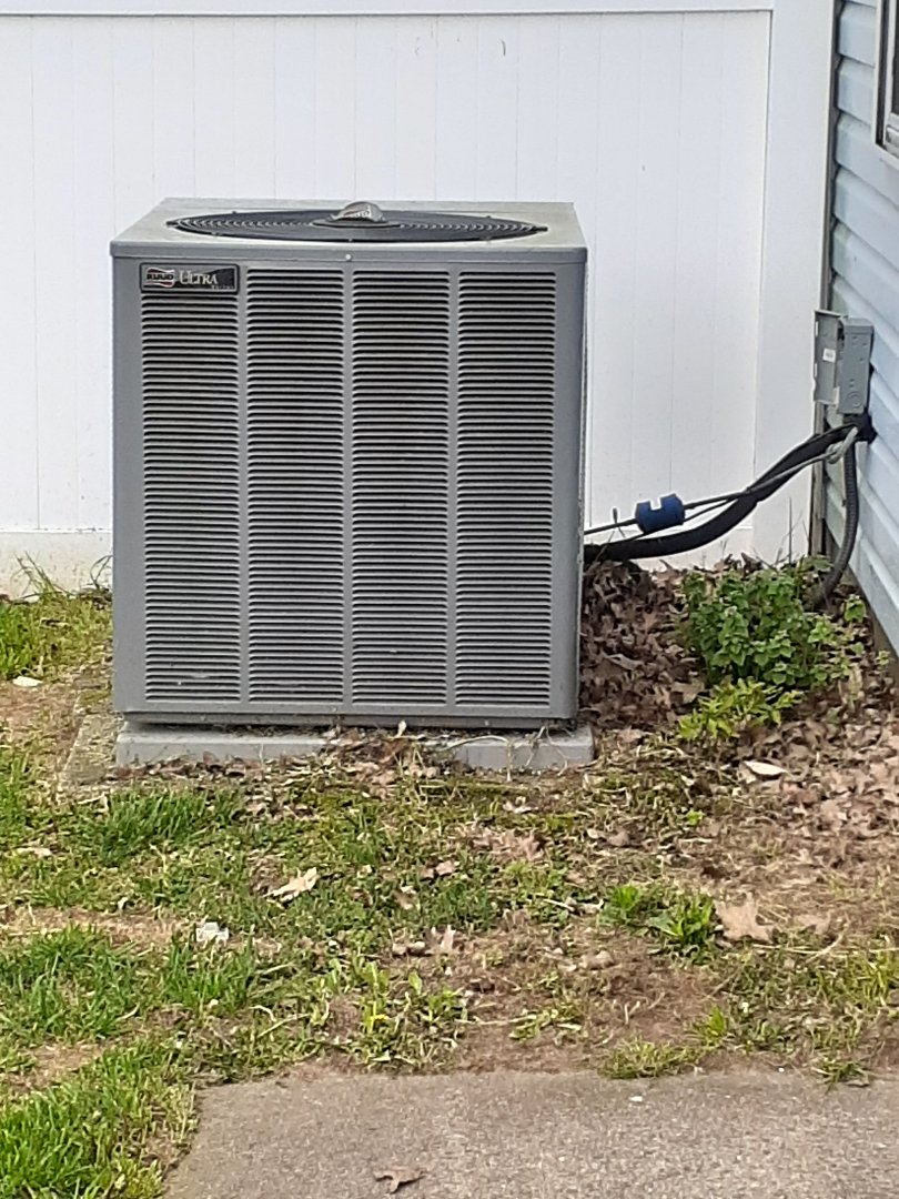 Newtown, PA - Performed ac tune up. Check all operations on Ruud unit Newtown PA