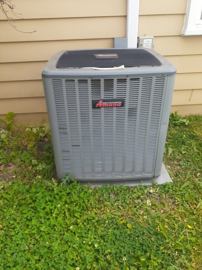 Fairless Hills, PA - Performed ac tune up on Amana unit in Fairless Hills PA