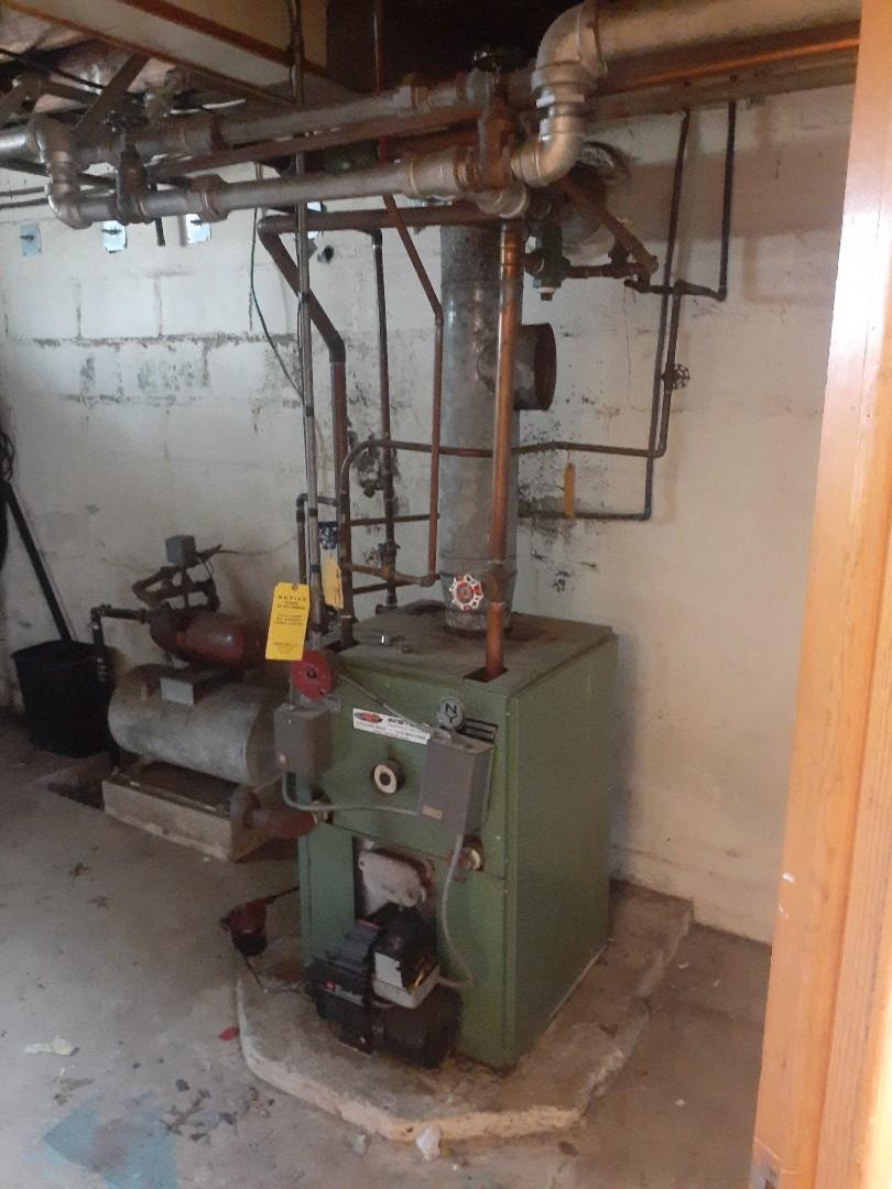 Bensalem, PA - Perform level 2 heater inspection and level 2 heater flue inspection in Bensalem PA on a New Yorker oil boiler