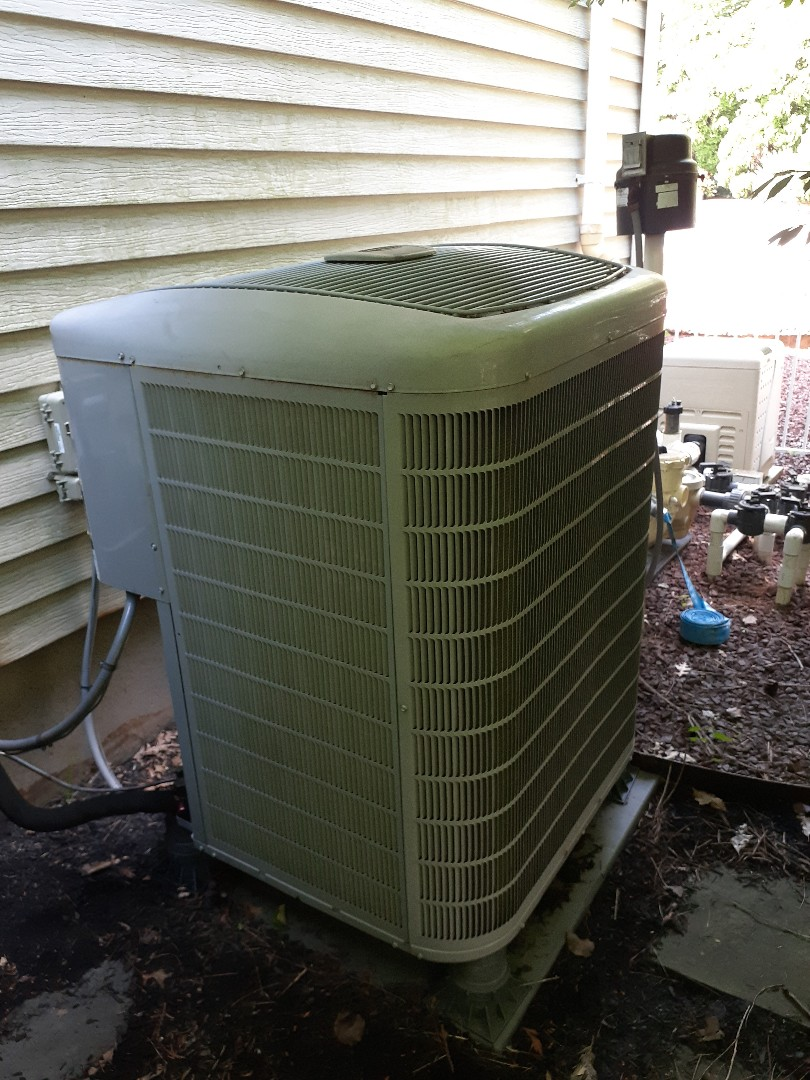 Southampton, PA - Performed ac tune up on two carrier air conditioning units Churchville PA