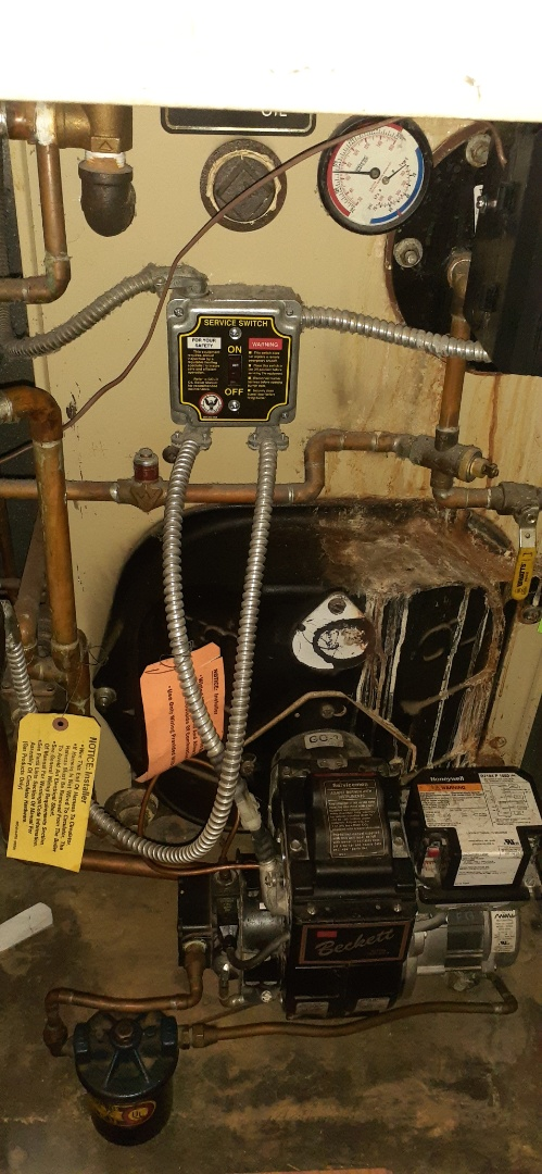 Levittown, PA - Performed Precision oil tune up on Weil Mclain gold boiler in Cobalt Ridge section of Levittown PA system is operational at this time