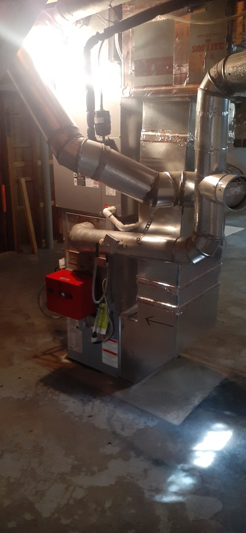 Yardley, PA - Performs Precision oil tune up on heil warm air furnace in Yardley PA. Checked all operations system is operational at this time