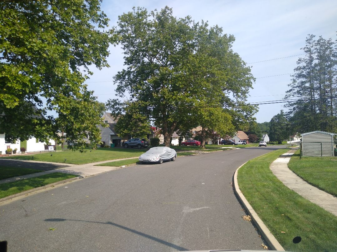 Levittown, PA - Making delivery to new contract customer