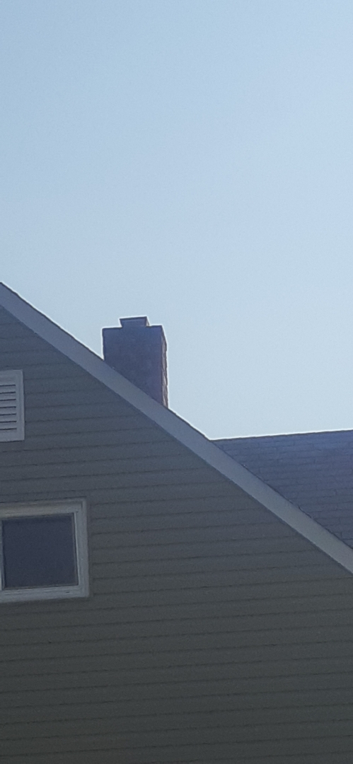 Levittown, PA - Performed inspection on heater flue in red cedar section of Levittown PA