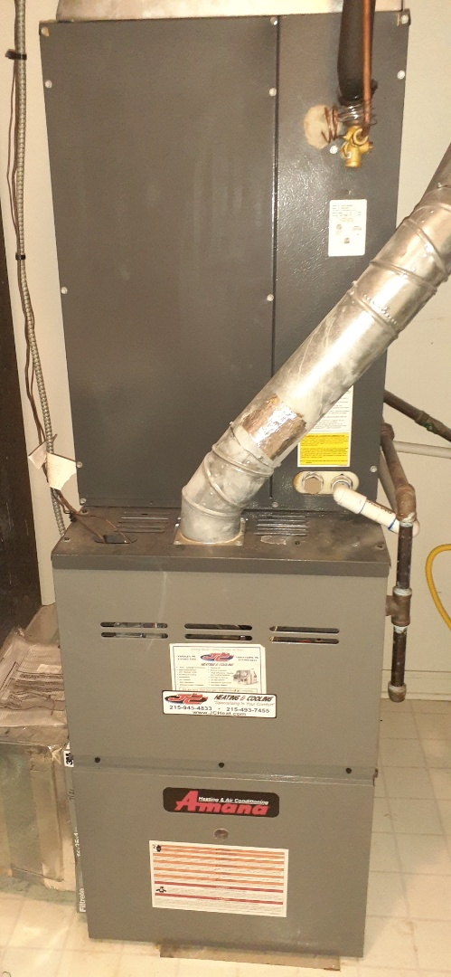 Performed gas tune up and air conditioning tune up on anamana air conditioning\ warm air furnace in Yardley PA. check all operations system is operational at this time