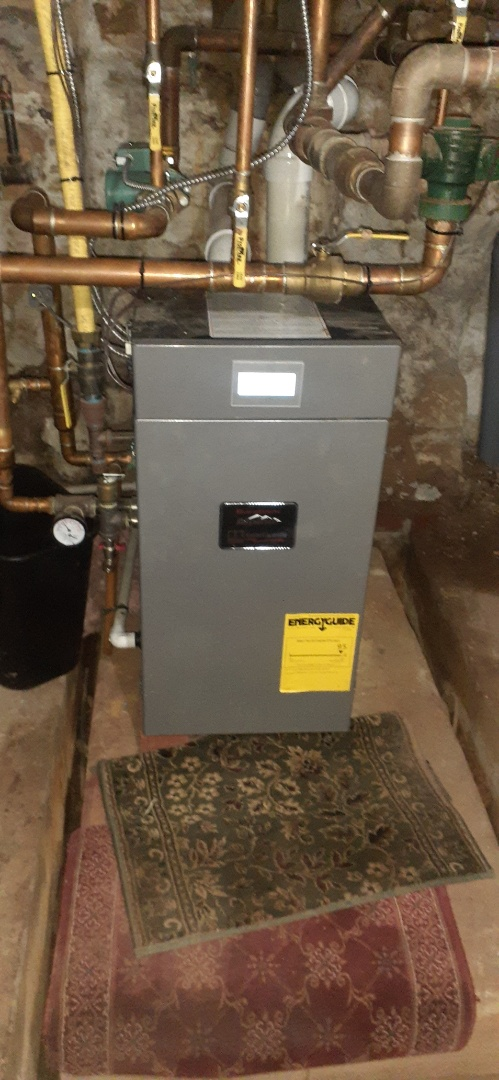 Upon arrival found Burnham gas boiler off on reset in doylestown pa. After further analysis found bed high limit switch replaced temp switch checked operation system is operational at this time