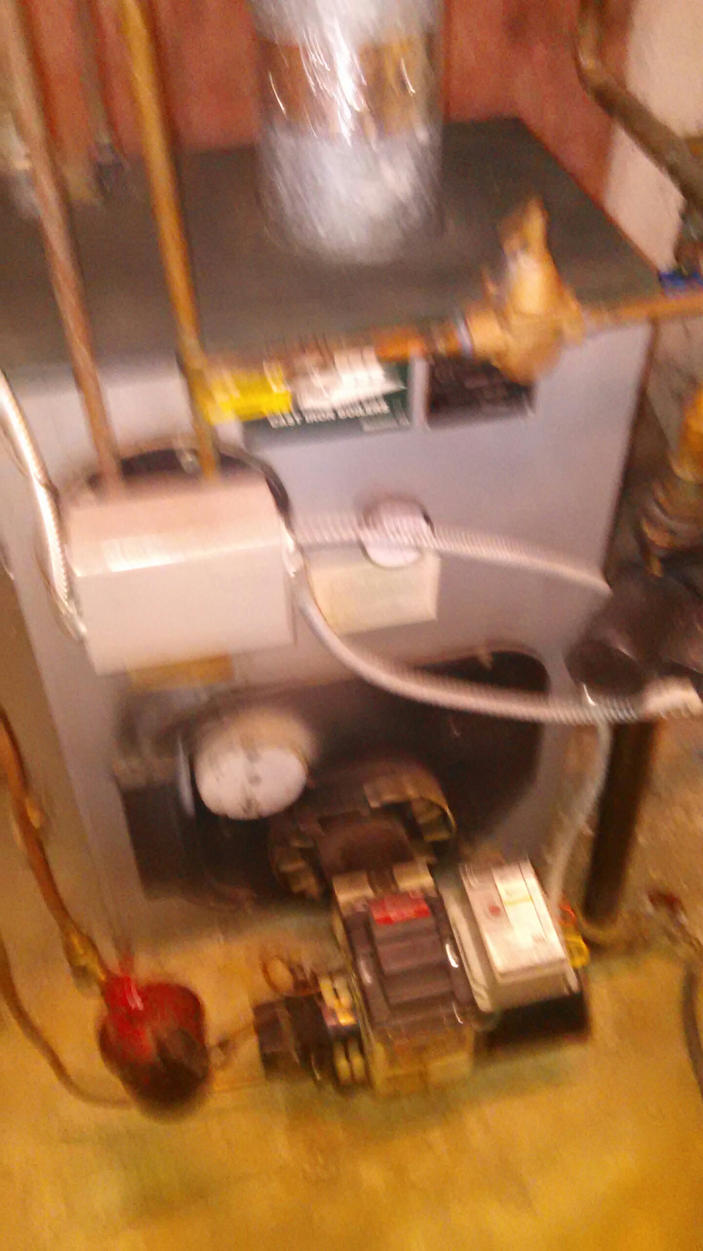 Richboro, PA - Performed an oil burner clean out on a WBV-83 Peerless boiler.