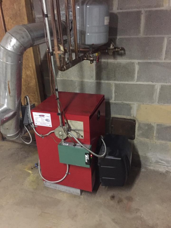 Furlong, PA - Tune up on a biasi oil boiler in furlong pa