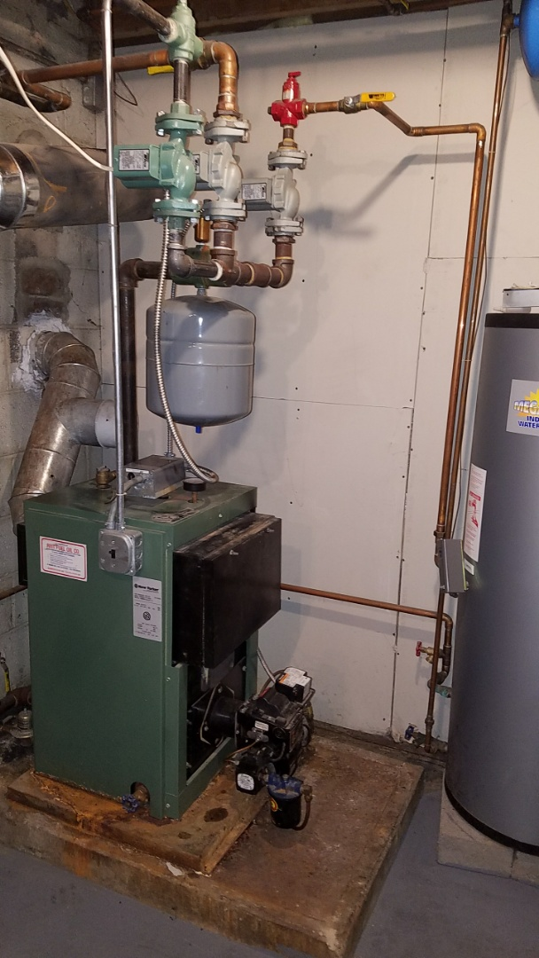 Warminster, PA - Perform service call on New Yorker oil boiler and Ivyland