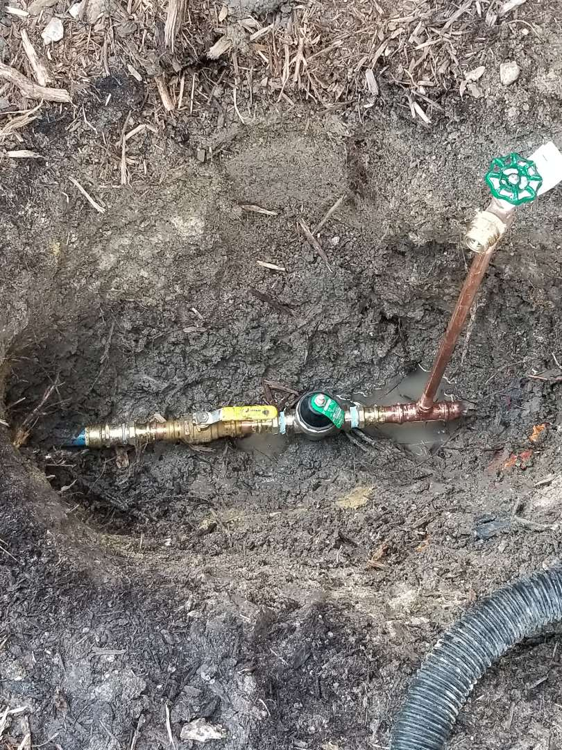 Homeowner has high water pressure inside of home need repair. Install new  Pressure reducing valve inside of front yard. Royse City plumbers