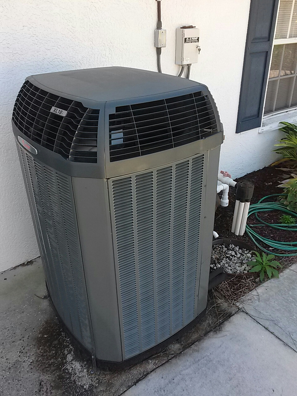 Cocoa, FL - Free 1-year checkup on Trane XL18i heat-pump split system.