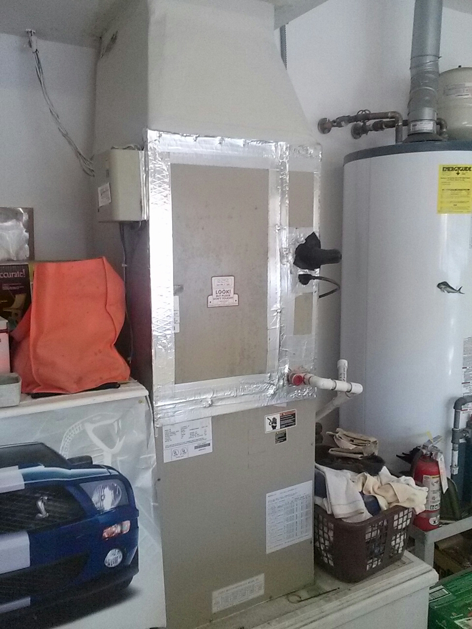 Merritt Island, FL - Heating service call and repair on residential air conditioning system.