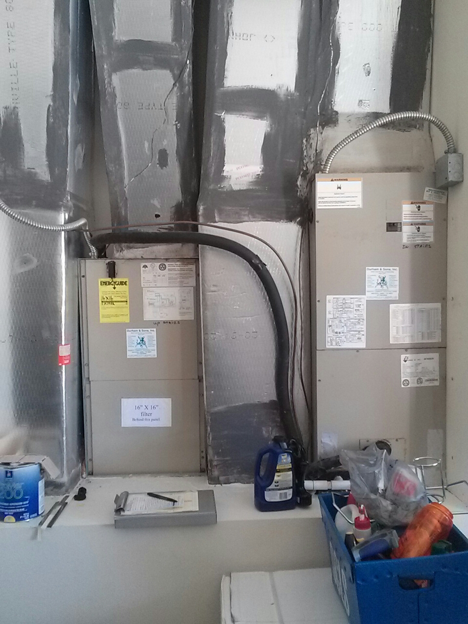 Cocoa, FL - Performed maintenance on 2 Aire Flo a.c. units