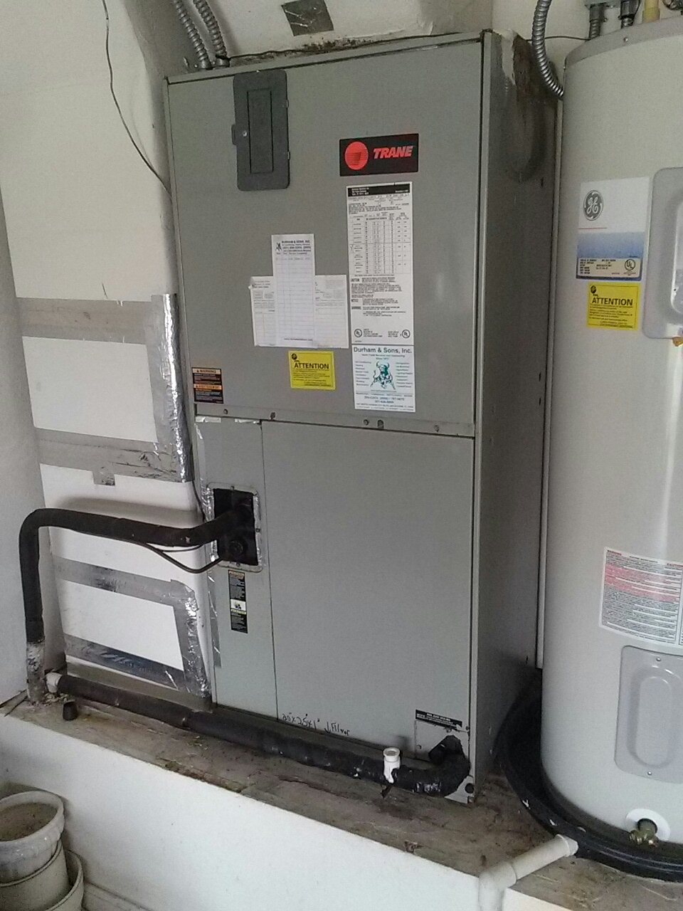 Merritt Island, FL - maintenance on Trane/Goodman a.c. system
