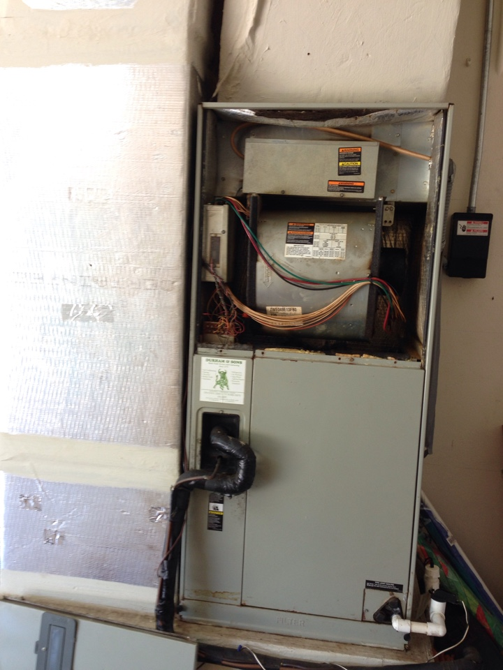 Merritt Island, FL - Perform preventative maintenance annual tune-up on Trane air conditioning system.