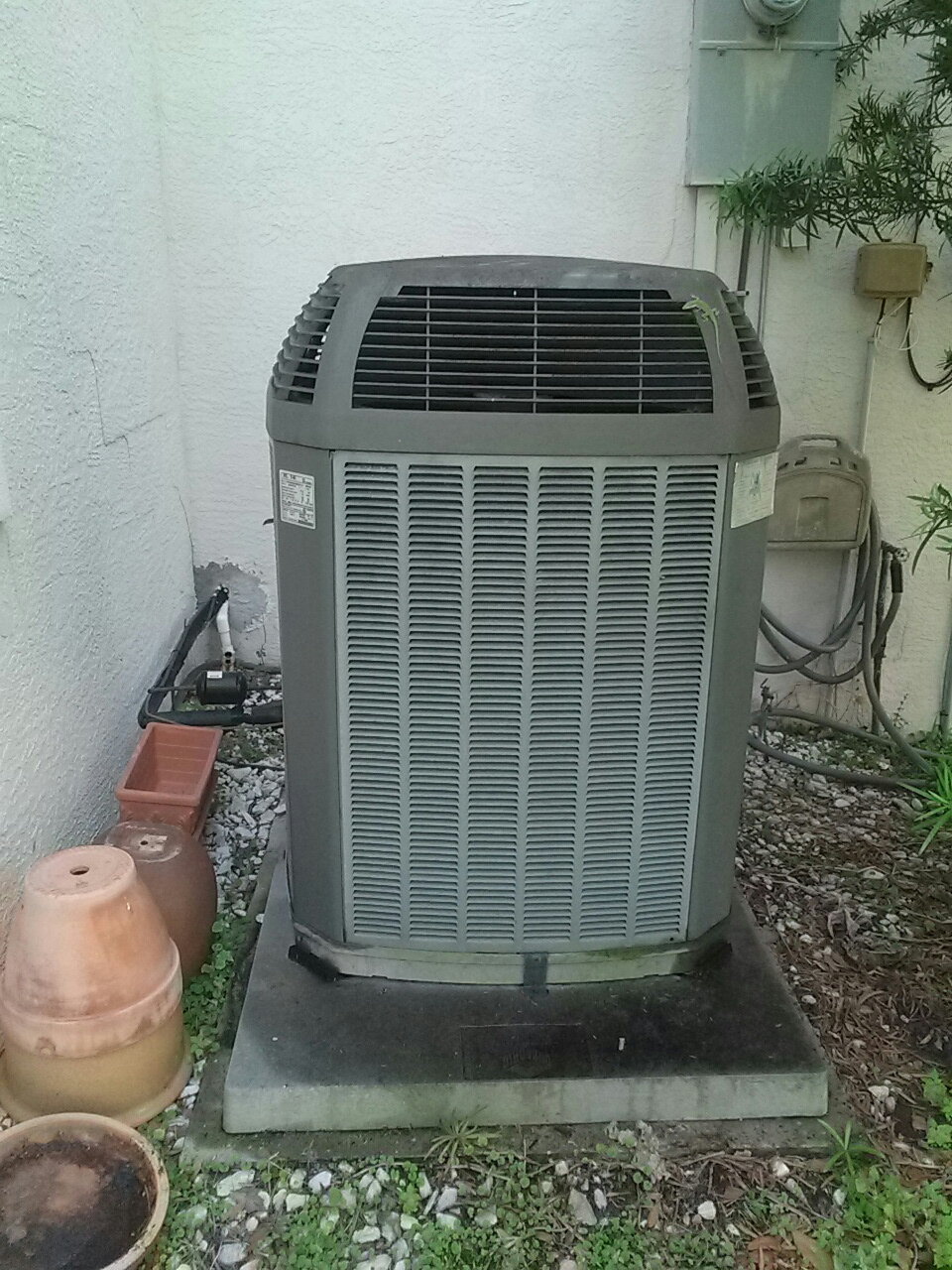 Merritt Island, FL - Maintenance on 2 Trane a.c. units