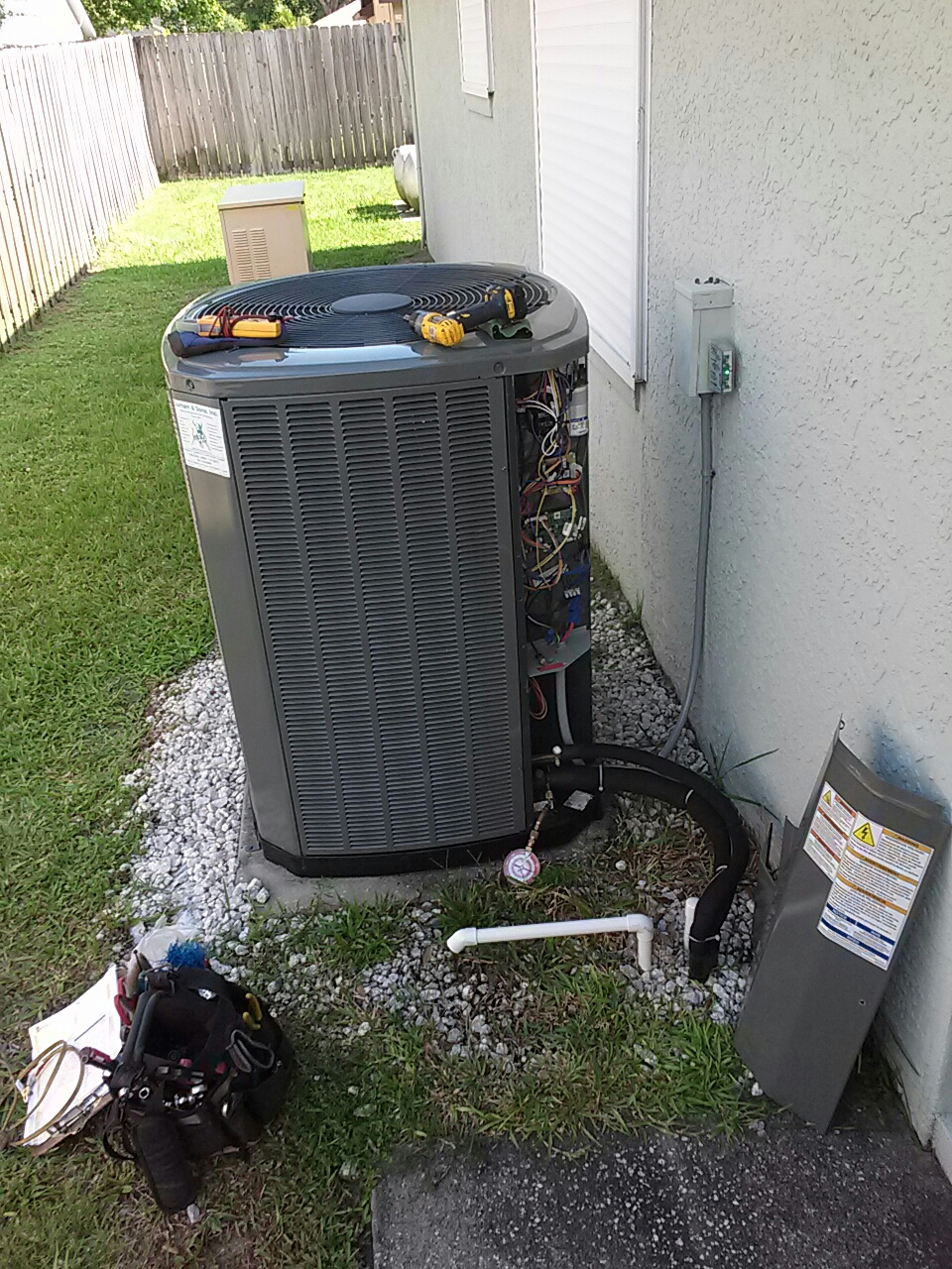 Rockledge, FL - Trane air conditioning maintenance