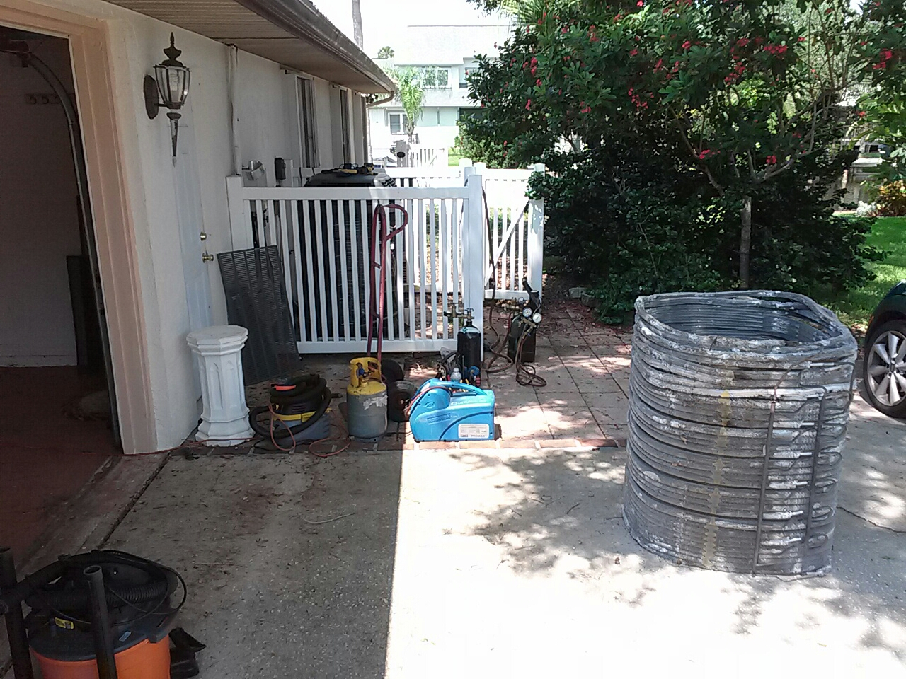 Rockledge, FL - Trane condenser, evaporator, Txv, and  capacitor warranty parts replacement