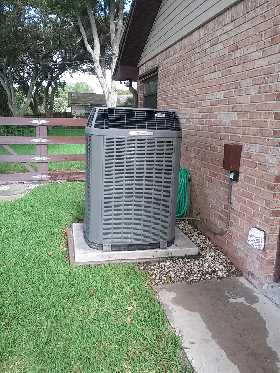 Malabar, FL -  Residential air conditioning system tune up maintenance check Trane 20i