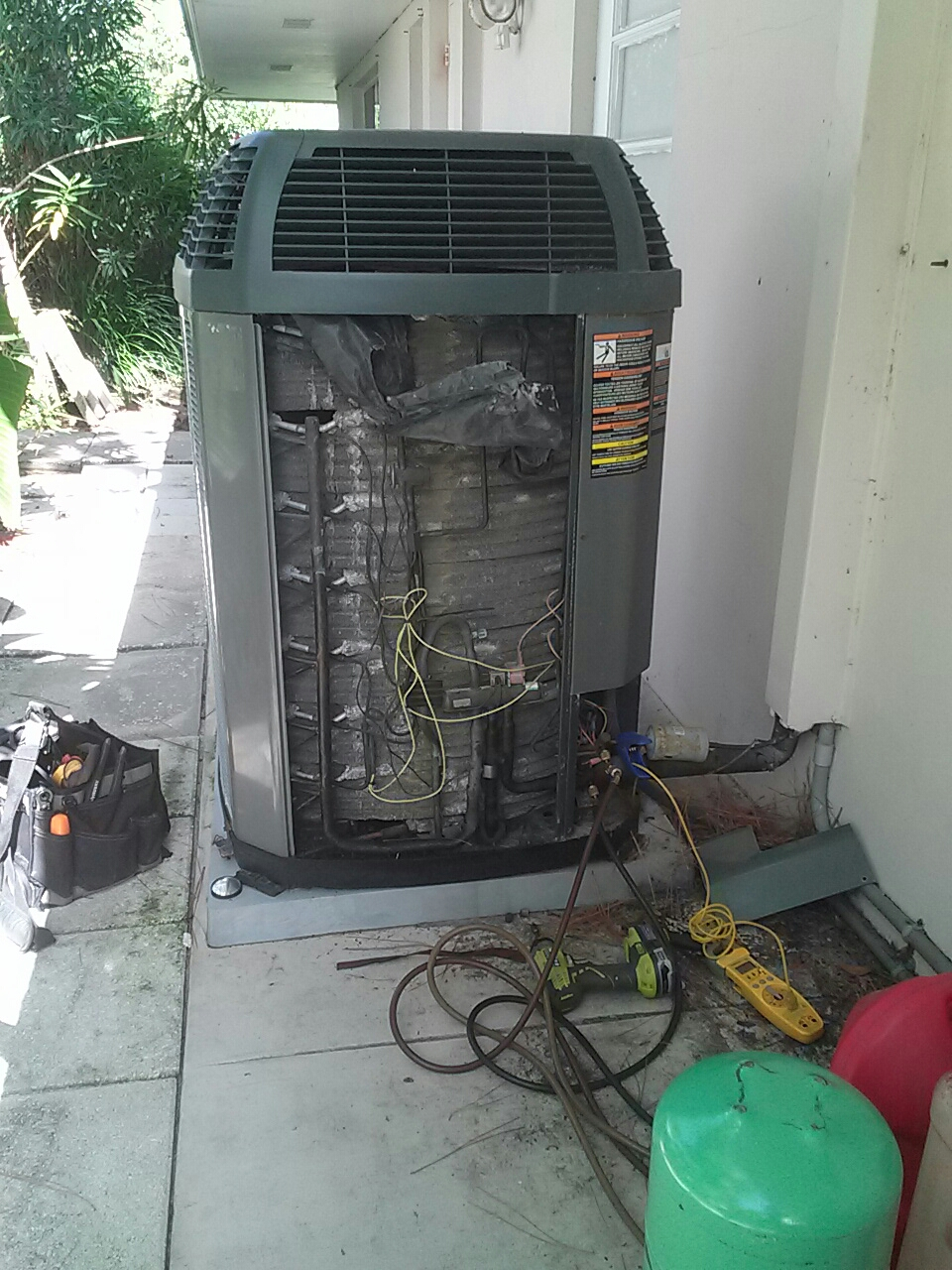 Cocoa Beach, FL - Leak search for residential air conditioning system