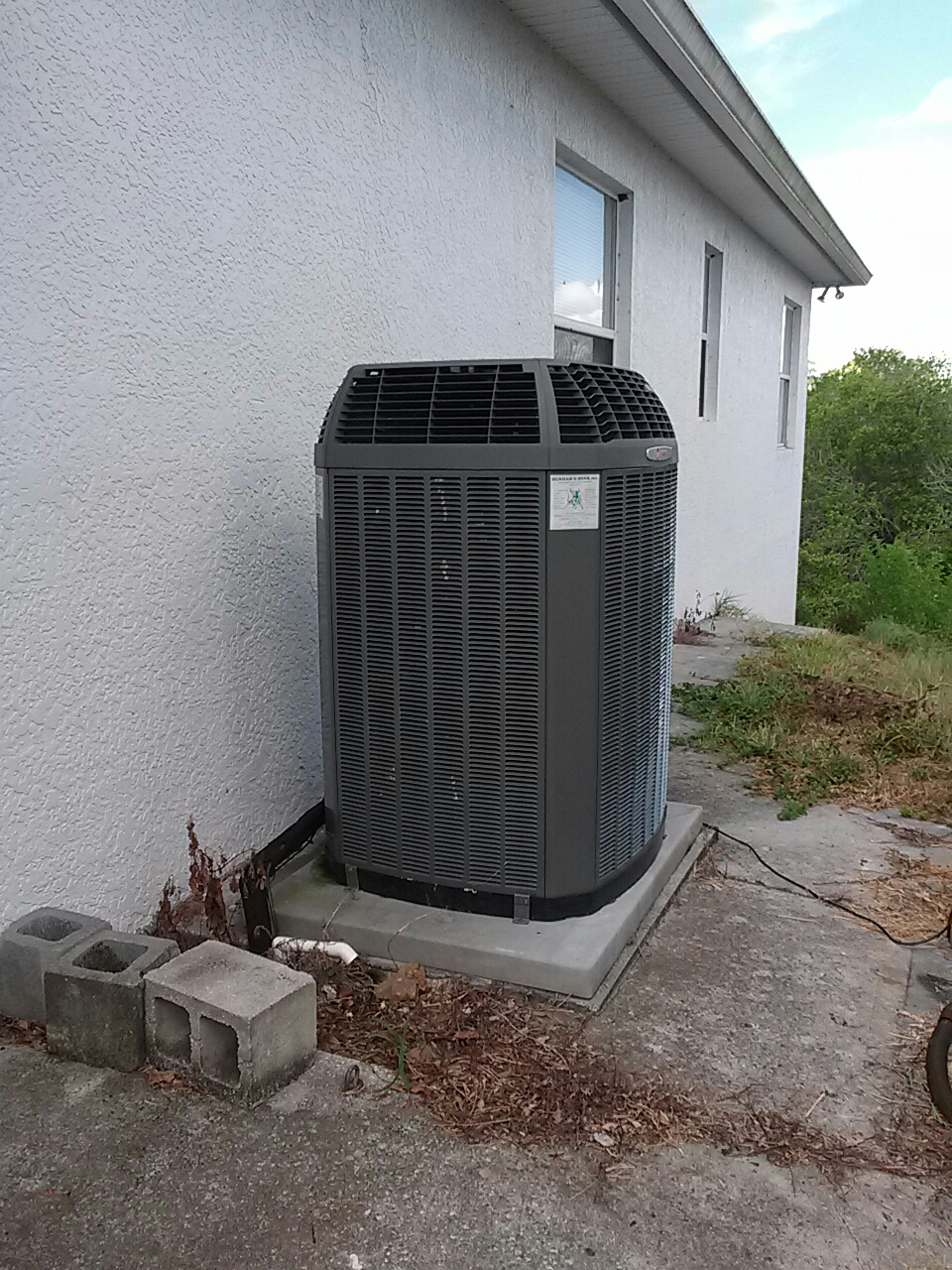 Rockledge, FL - Residential air conditioning system tune up maintenance
