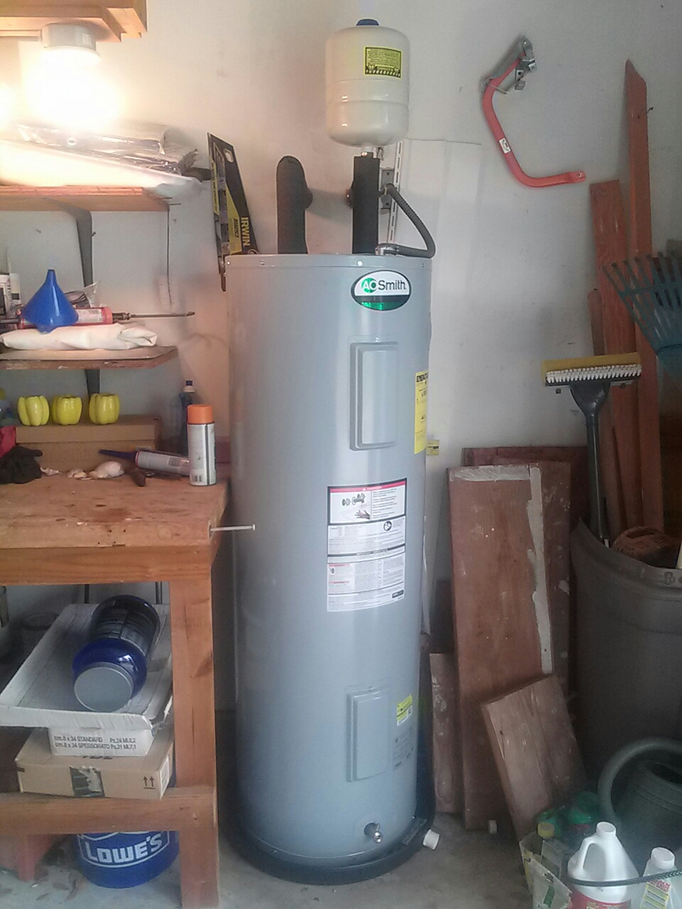 Indialantic, FL - Water heater install