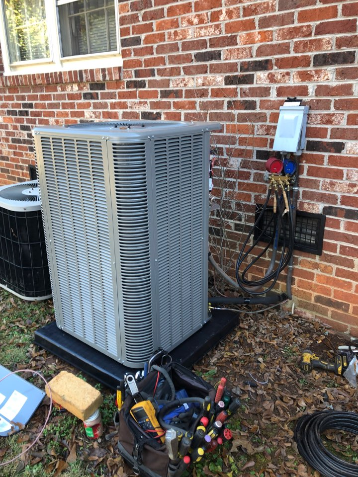 Greenville, SC - Install heat pump