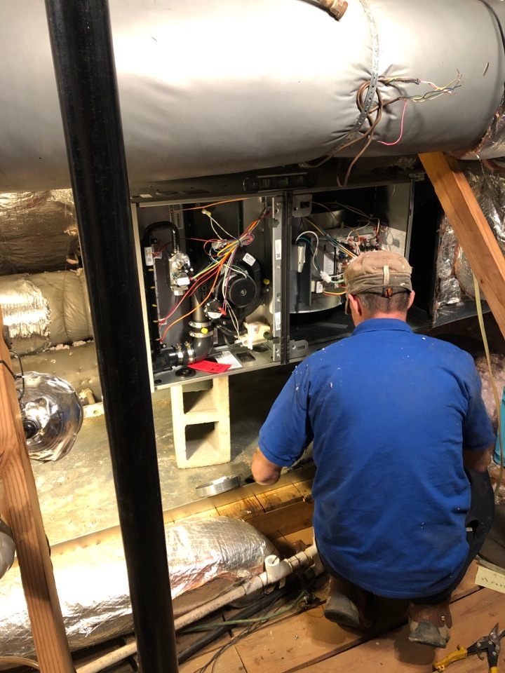 Gray Court, SC - Replaced furnace.