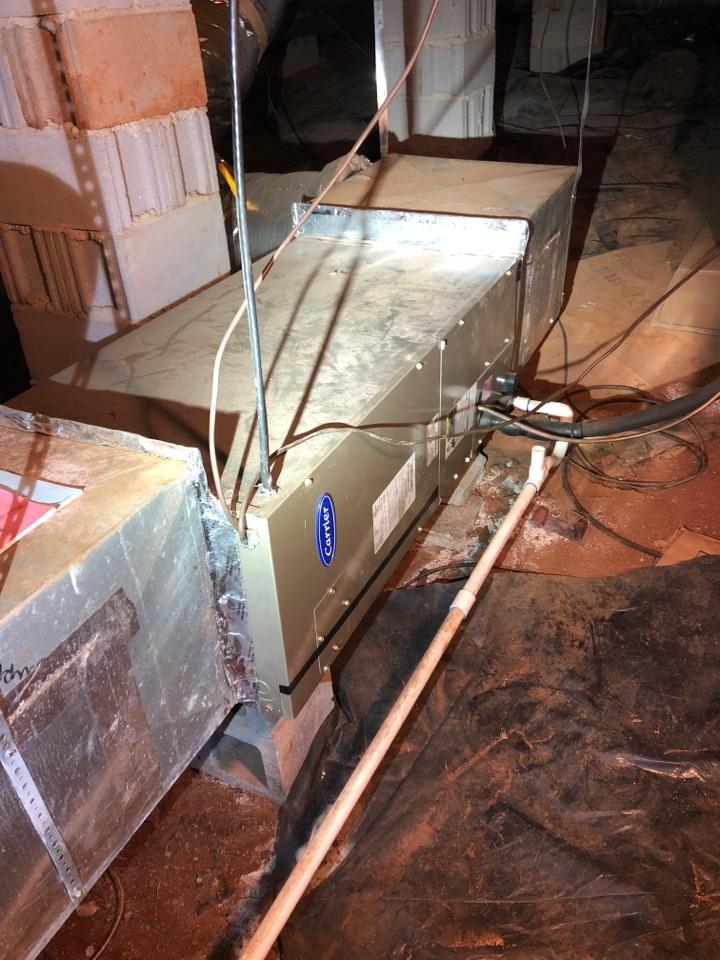Greenville, SC - Servicing heat pump