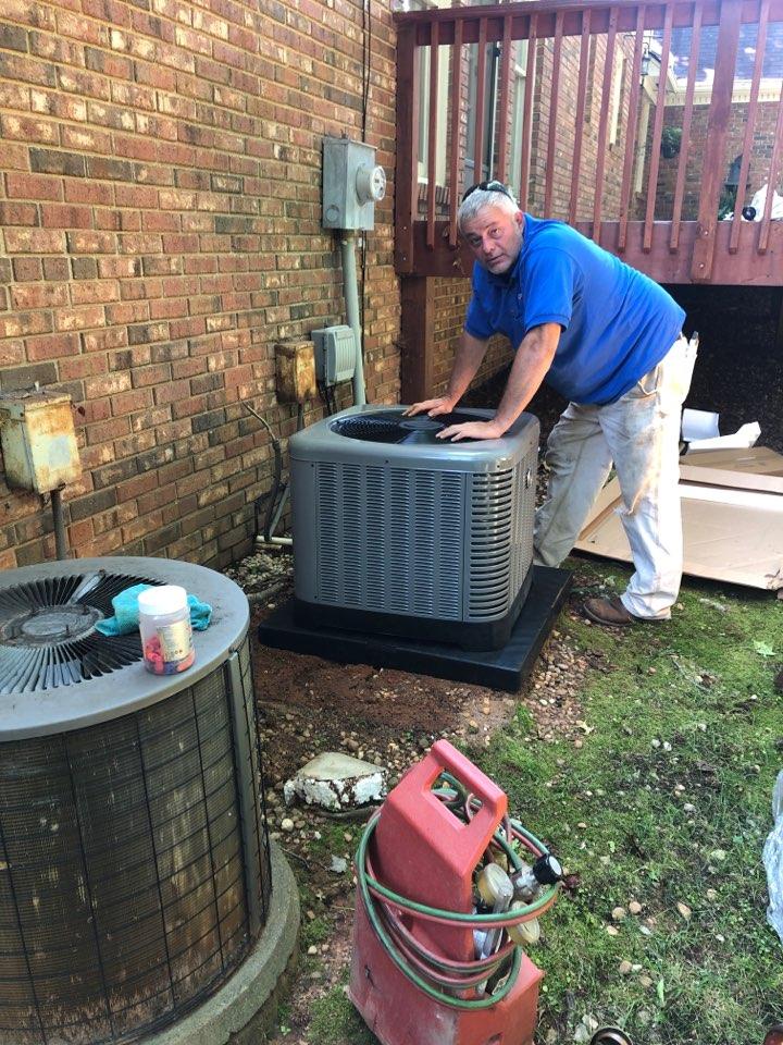 Greenville, SC - Replacing heat pump split system