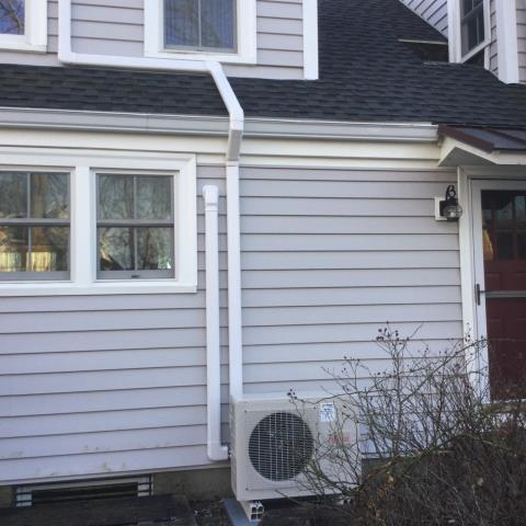 Milford, CT - Installed new Fujitsu Ductless Heat Pump at a single family home residence.