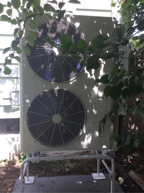 Stratford, CT - Maintenance on a Carrier ductless  3 head system. Everything is up and running well at this time. Customer will be nice and cool on today's hot day.