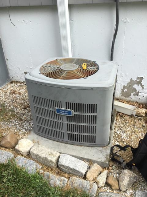 Stratford, CT - Performed annual maintenance on this American Standard unit.