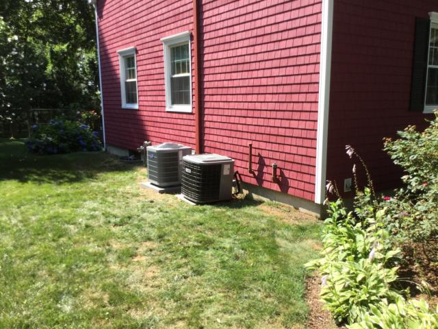 Milford, CT - Installed 1.5 Ton 16 SEER Carrier Central Air Conditioning.